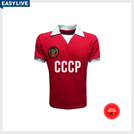 Liga Retrô | Camisa CCCP 1980