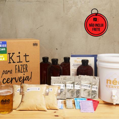 Neo Cerveja | Kit Cervejeiro 12 litros com curso