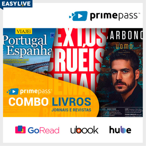 Primepass - Livros, Jornais e Revistas