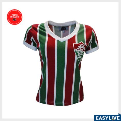 Liga Retrô | Camisa Feminina Fluminense 1952