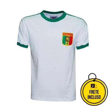 Liga Retrô | Camisa Senegal 1985