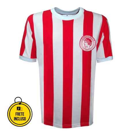 Liga Retrô | Camisa Olympiacos 1970