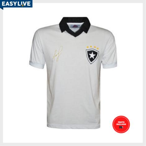 Liga Retrô | Camisa Maurício Botafogo 1989 Branca
