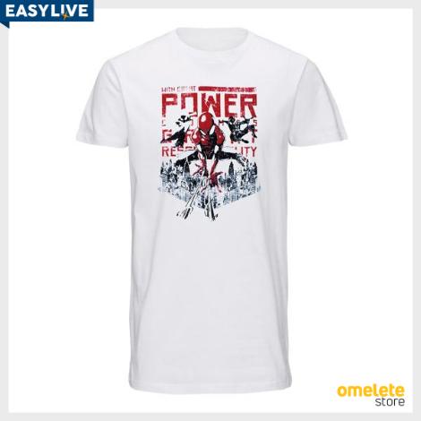 Coleção MARVEL | Camiseta Homem Aranha (Masculina)