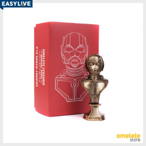 Coleção MARVEL | Mini Busto Homem Formiga