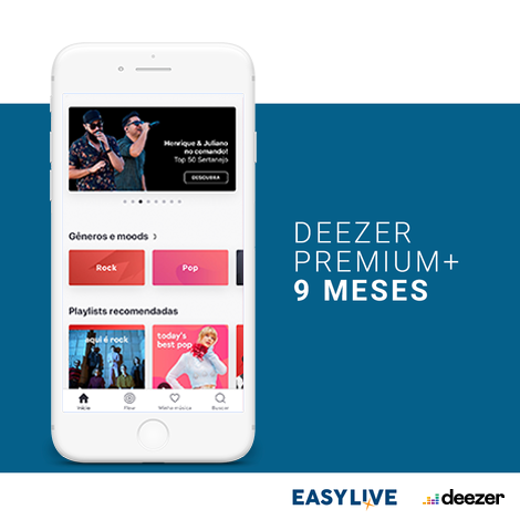Deezer - Streaming de música