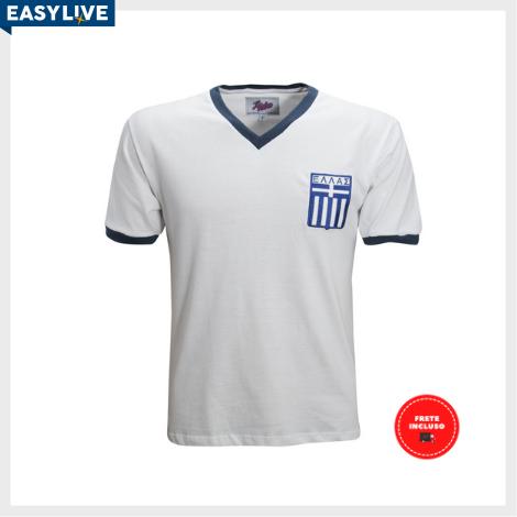 Liga Retrô - Camisa Grécia 1980