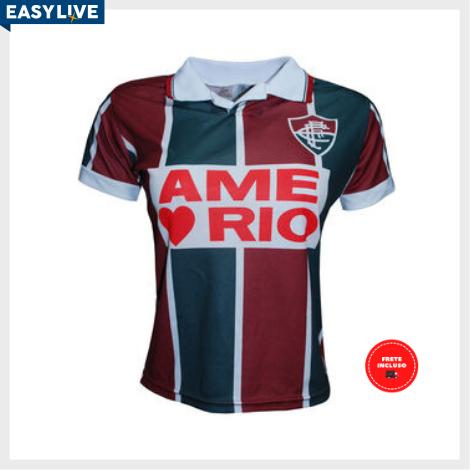 Liga Retrô | Camisa Feminina Fluminense 1995