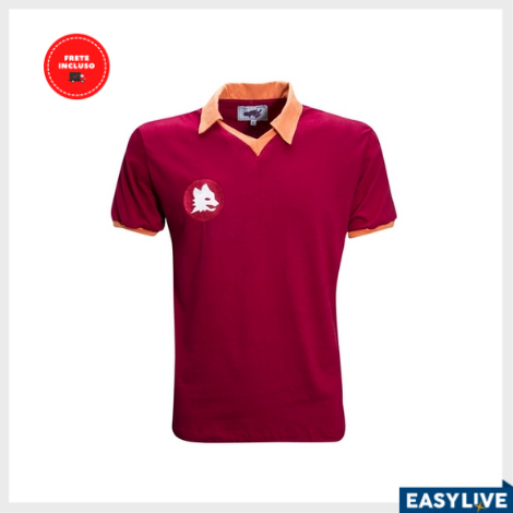 Liga Retrô | Camisa Roma 1983