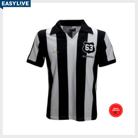 Liga Retrô | Camisa Pepe 1963 Listrado
