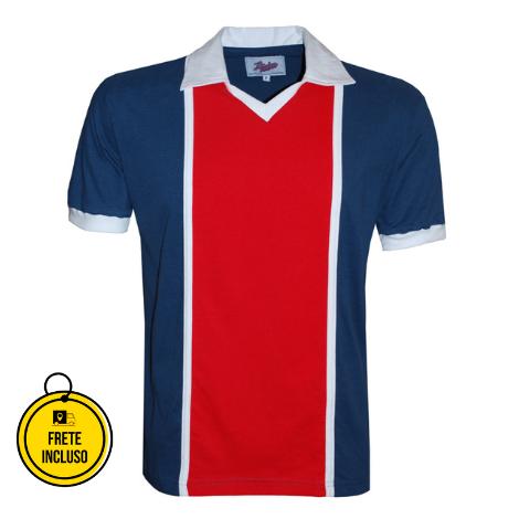 Liga Retrô | Camisa Paris Saint-Germain 1982