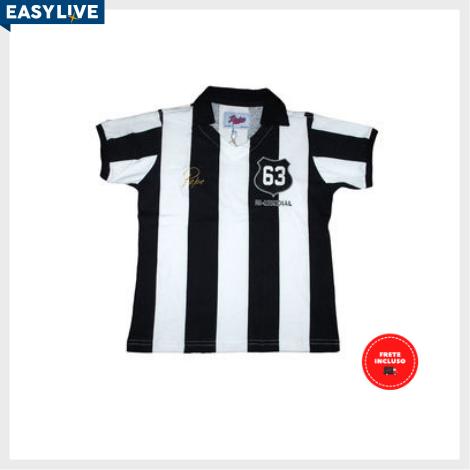 Liga Retrô | Camisa Infantil Pepe 1963 Listrada