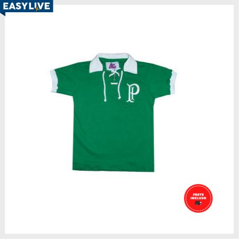 Liga Retrô | Camisa Infantil Palmeiras 1915