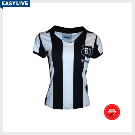 Liga Retrô | Camisa Feminina Pepe 1963 Listrado